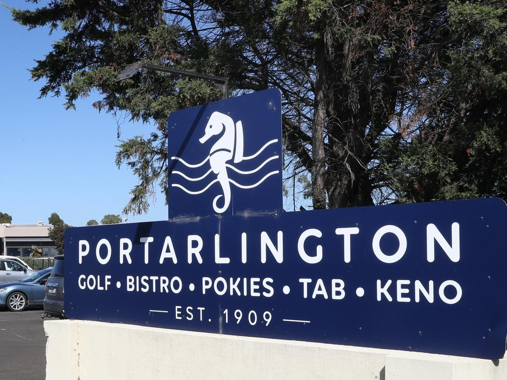 Portarlington Golf Club on Victoria's Bellarine Peninsula where a man was hit with a golf ball while playing. Picture: David Crosling