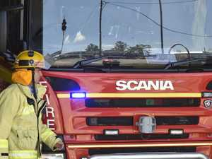 Fire breaks out in hinterland home after garage mishap