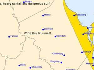 ALL OVER: Severe weather warnings cancelled for Bundy, Coast