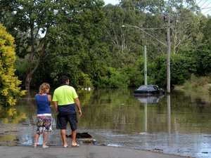 Flood watch cancelled as intense system stays off-shore