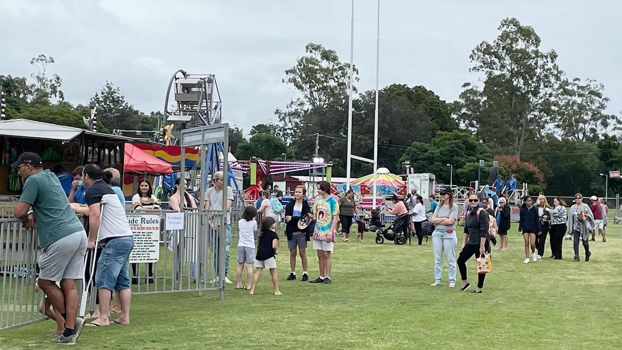 Organisers of the first-ever Ipswich Easter Spectacular were forced to cancel the event early. Pic: West Bremer Radio