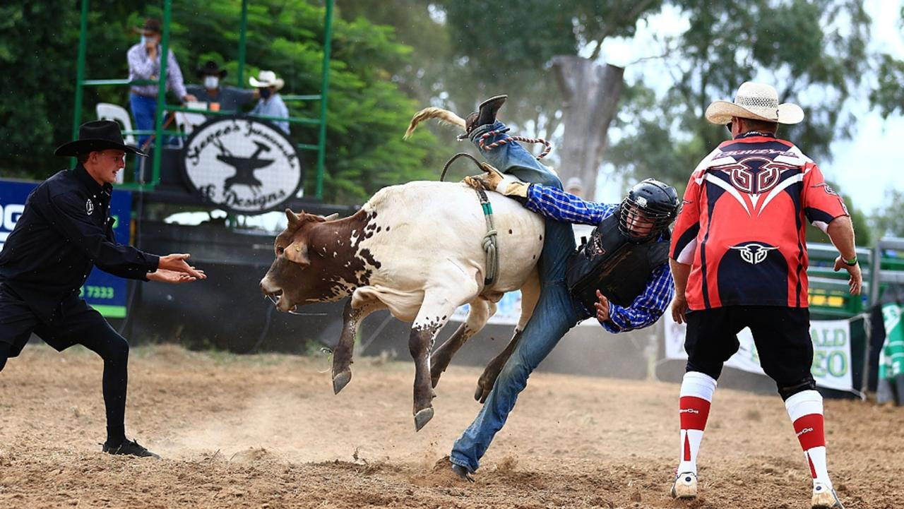 All the action from the 2021 Easter Rodeo at the Emerald Showgrounds on Saturday, April 3. Photo: Terry Hill