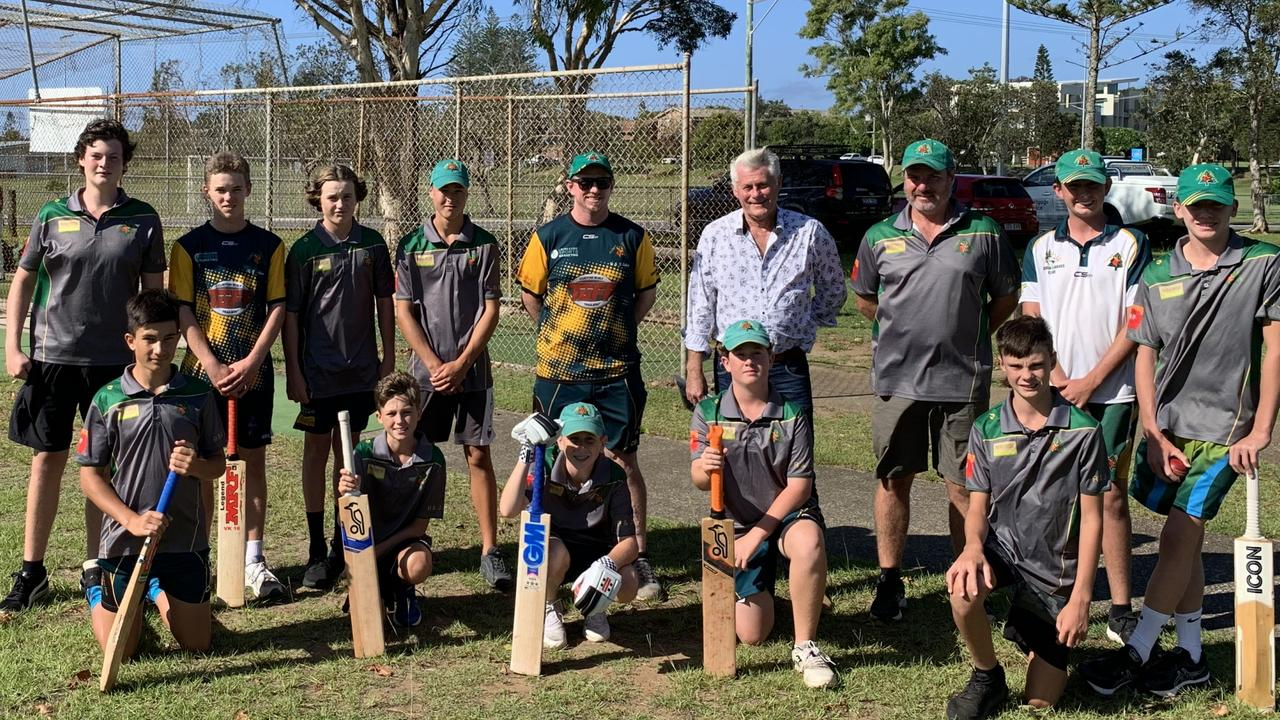 Geoff Provest the with Cudgen Cricket Club who are one of the recipients of sports grants.