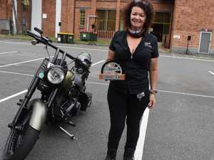 Marney takes out top ladies Harley awards win at Rockynats