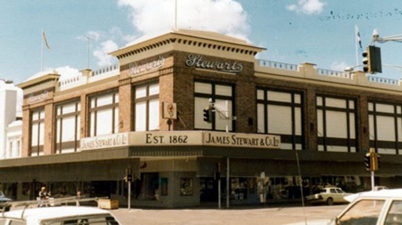 Stewarts in 1981.