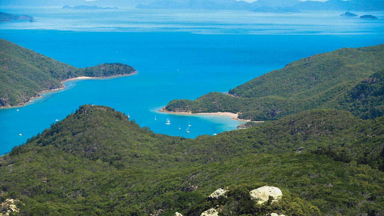 Whitsunday Islands, Queensland. Picture: Chris McLennan