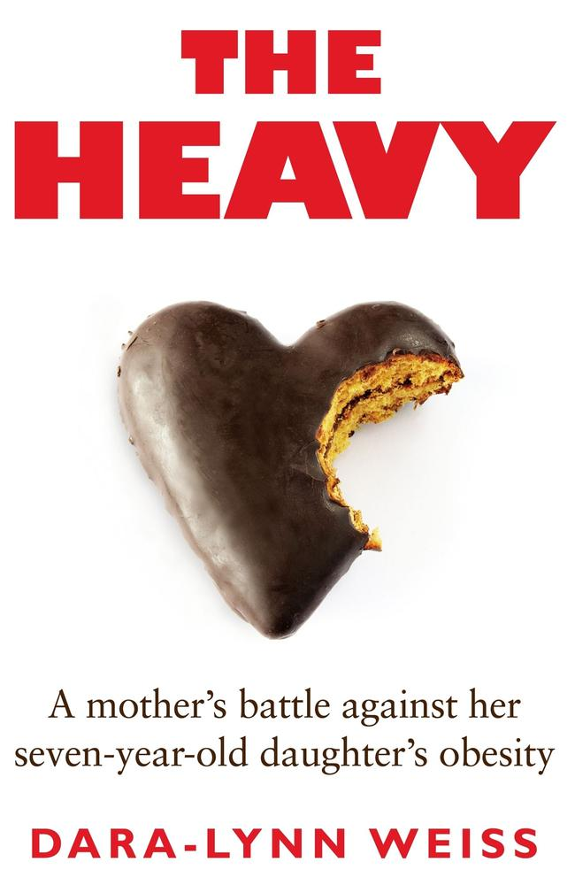 Dara-Lynn wrote a book about the diet she put her daughter on, called 'The Heavy'.