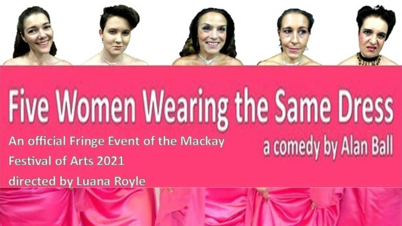 Kucom Theatre group have put out an urgent call for an 'actor wanted' ahead of their production of Five Women Wearing the Same Dress. Picture: Kucom Theatre Incorporated
