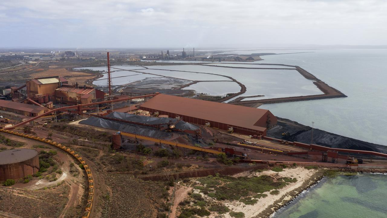 The steel works at Whyalla. Picture Simon Cross