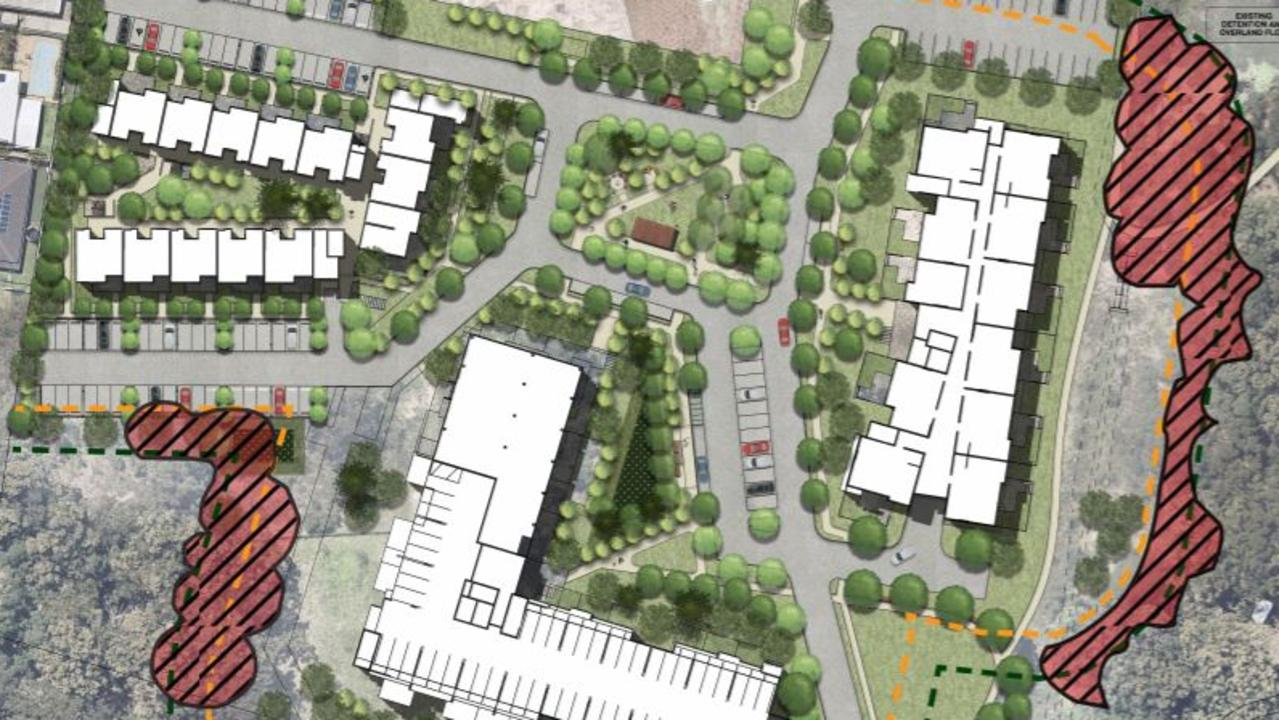 Stage two of the Churches of Christ in Queensland development application to expand their site in Little Mountain.