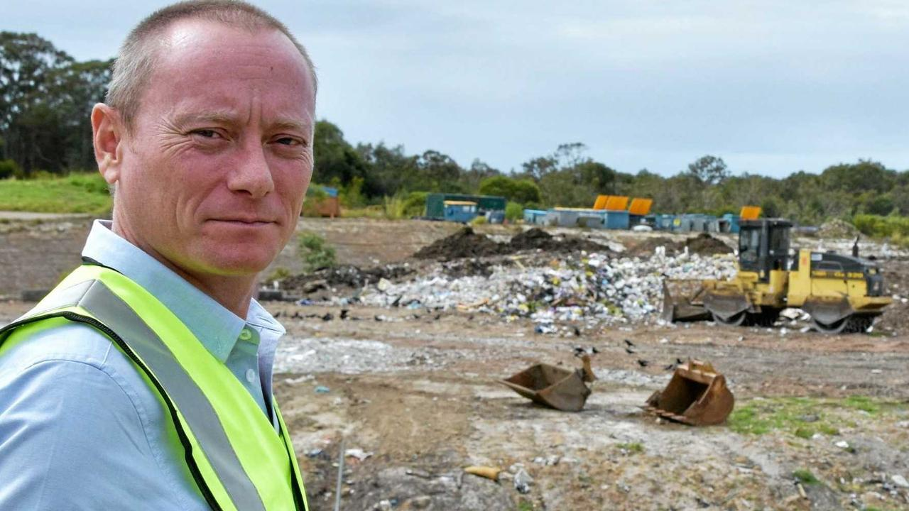 Noosa Council waste coordinator Ian Florence is helping make a mint out of our throwaway society.