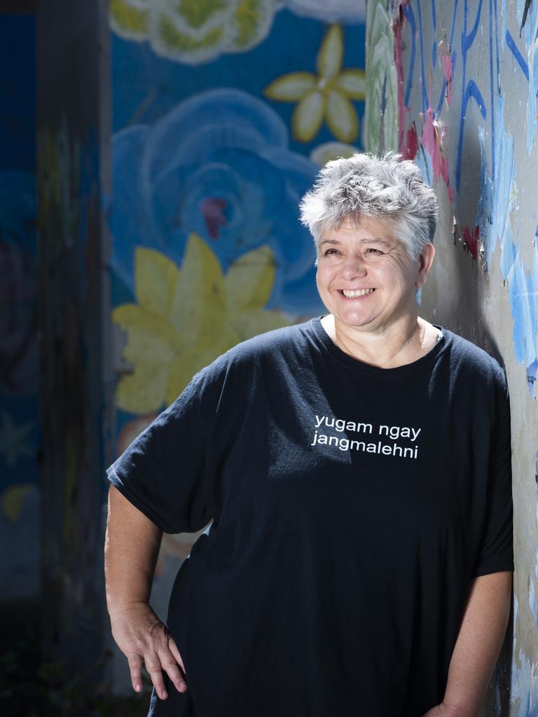 Author Melissa Lucashenko. (AAP Image/Renae Droop)