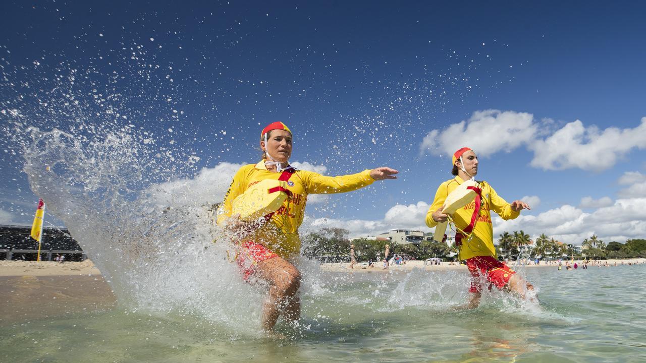 Lifeguards were ranked as Sunshine Coast Council's top service. Picture: Lachie Millard