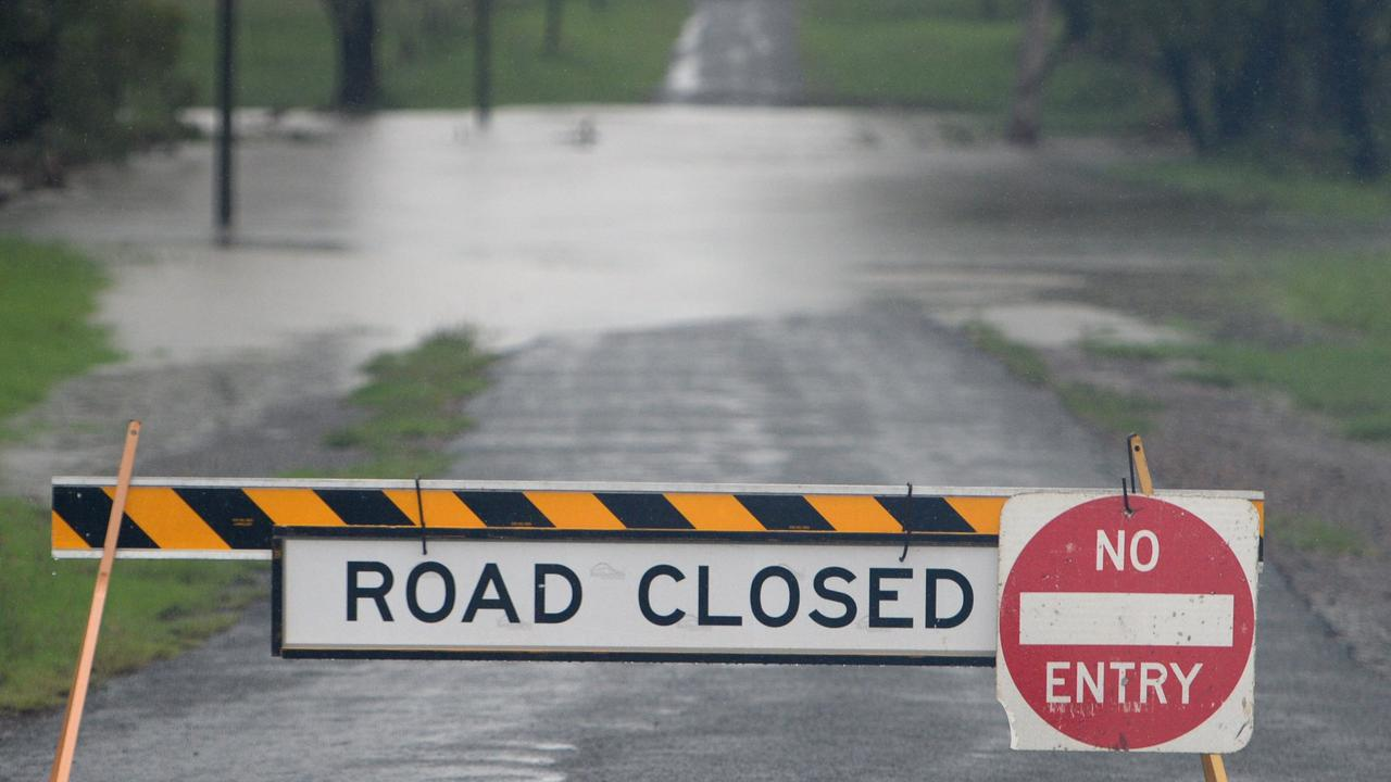 More than 100 roads across Queensland are impacted by flash flooding after a 150mm-plus deluge overnight.