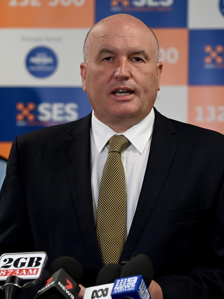 NSW Minister for Police and Emergency Services David Elliott. Picture: NCA NewsWire/Bianca De Marchi