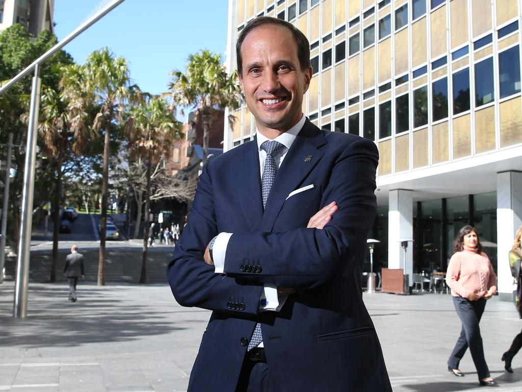 Departing CEO Francesco De Ferrari. Picture: Britta Campion
