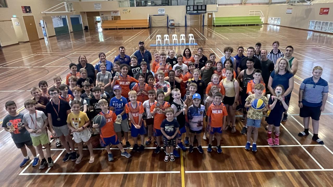 Maranoa Basketball Association Junior teams finals 2021.