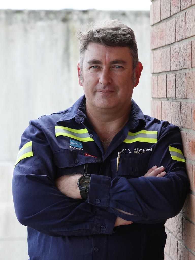 Bengalla mine maintenance manager Warwick Gloster. Picture: David Swift
