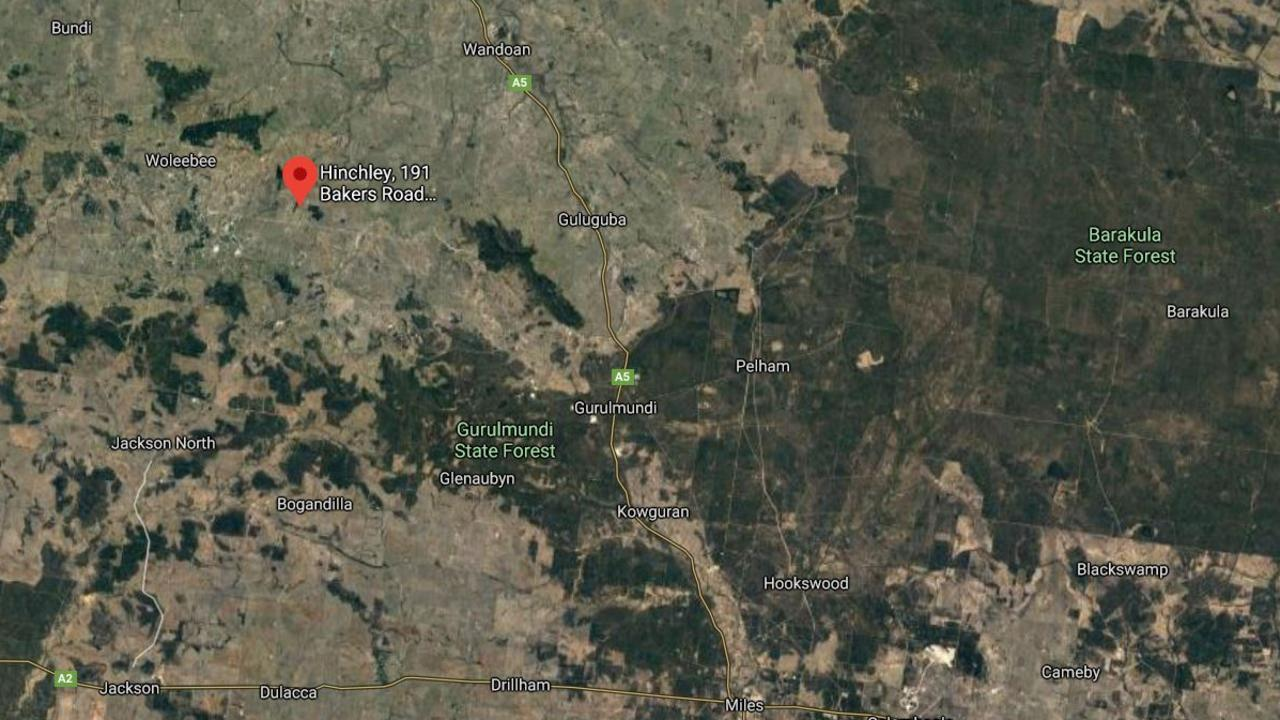 SOLD: Farming property sold for $7.8m to make way for a new solar project in Wandoan. Pic: Google Maps