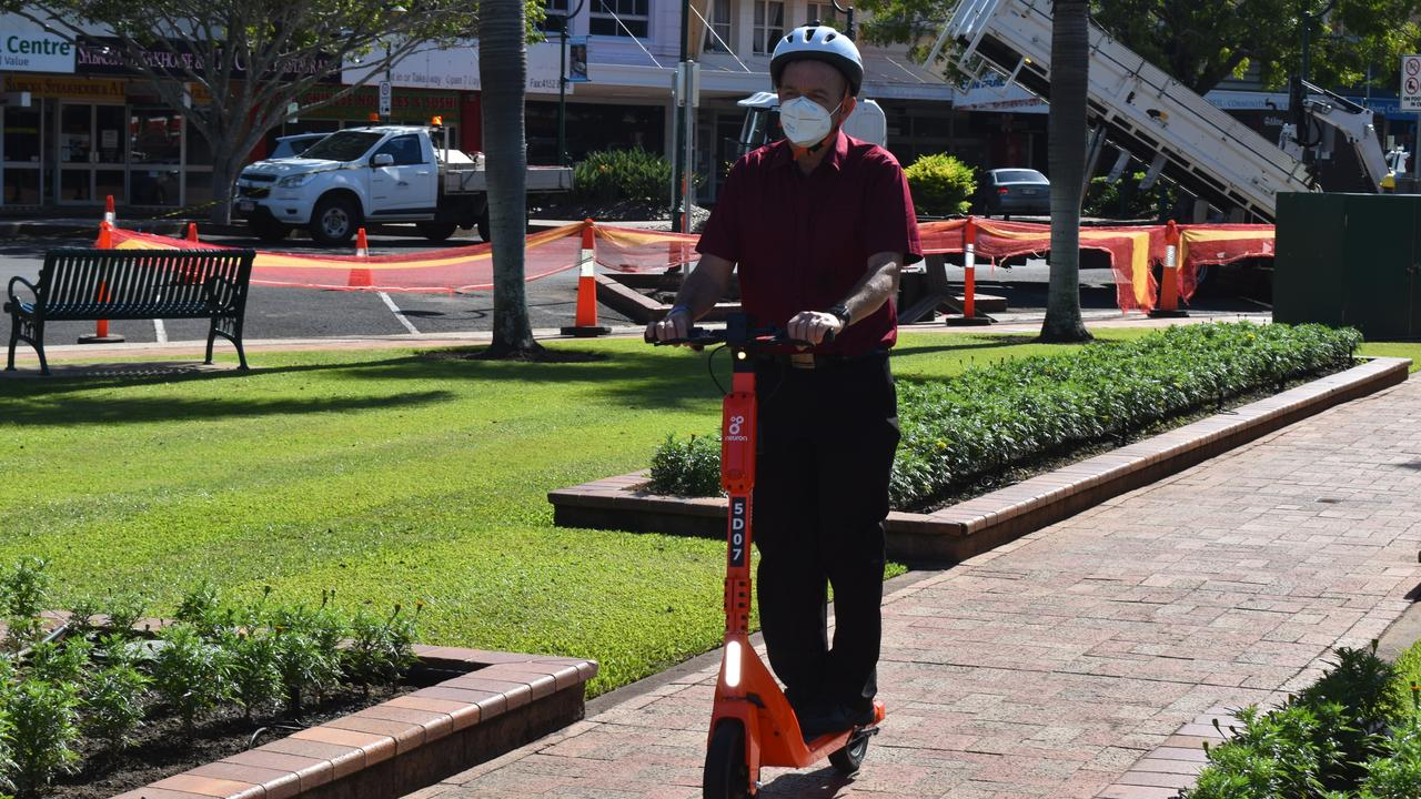 Bundaberg Regional Council has partnered up with Neuron to deliver an e-scooter hire service allowing locals and tourists to explore the CBD, coast and surrounds.