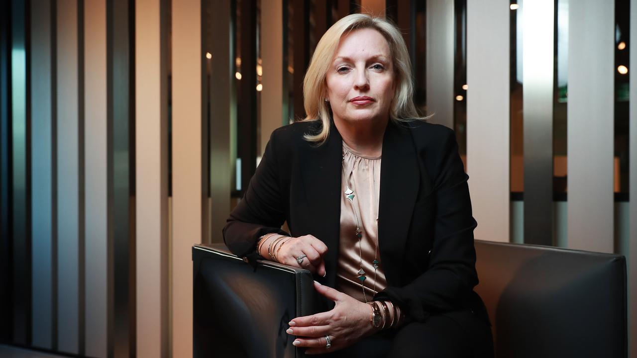 Former CEO of Australia Post, Christine Holgate. Picture: John Feder/The Australian.