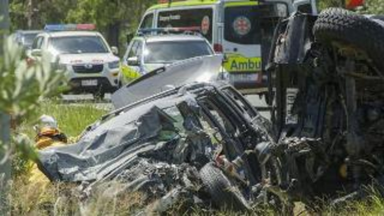 Blaise Allen was in a horrific crash on the Gateway Motorway on January 6 with his three kids.