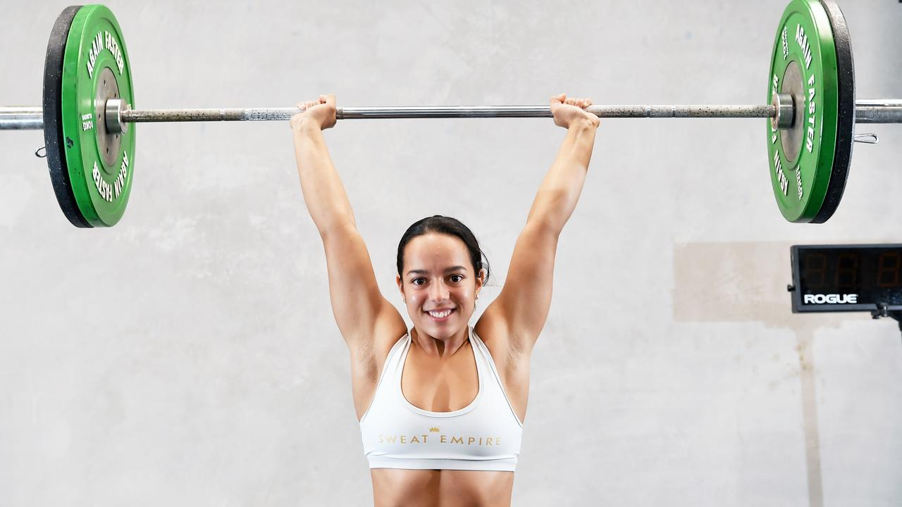 Tayla Stephens is chasing qualification into the Crossfit Games in the US. Picture: Patrick Woods