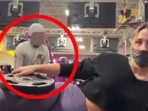 Man's 'creepy' act in gym shocks