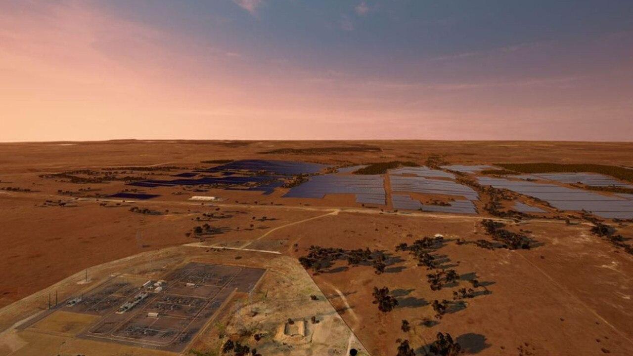 RENEWABLE ENERGY: Vena Energy's Wandoan South Solar Project. Pic: Vena Energy Australia