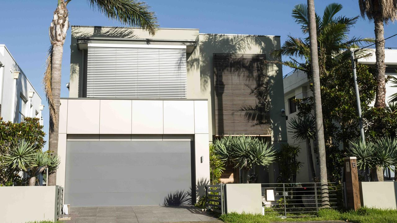 The Dover Heights home where Melissa Caddick and her husband Anthony Koletti lived. Picture: NCA NewsWire / James Gourley