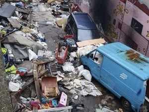 World-famous city now a rubbish dump