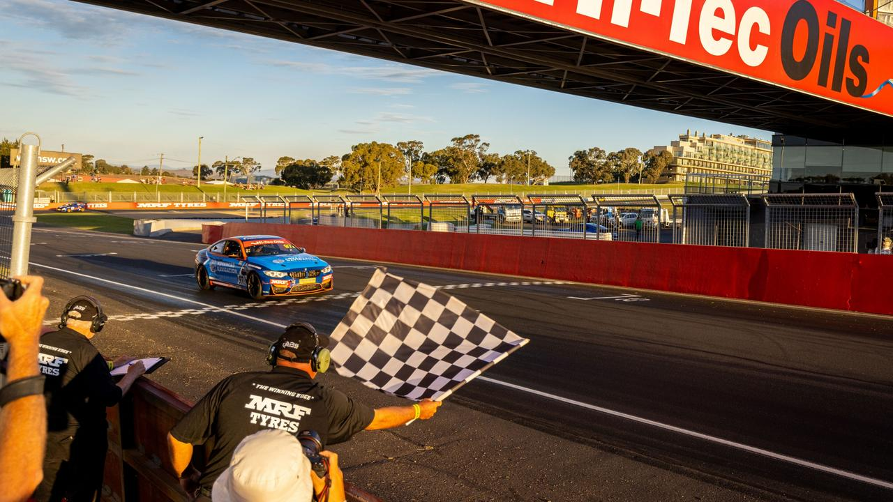 Shane Smollen and his teammates Shane van Gisbergen and Rob Rubis won the Bathurst 6 Hour on the weekend.