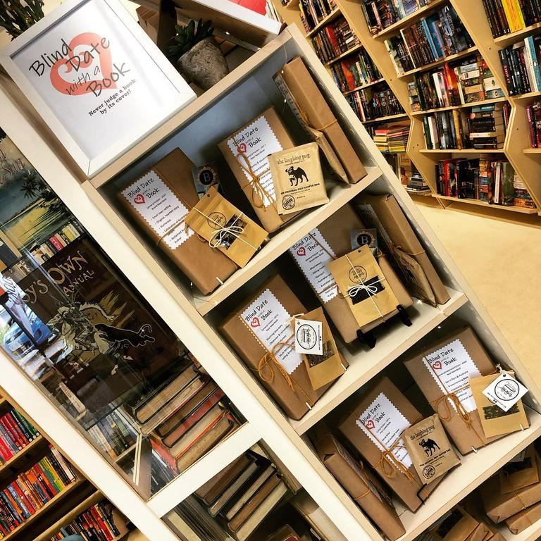 The new blind date with a book bundles available at the Bargara Book Boutique.