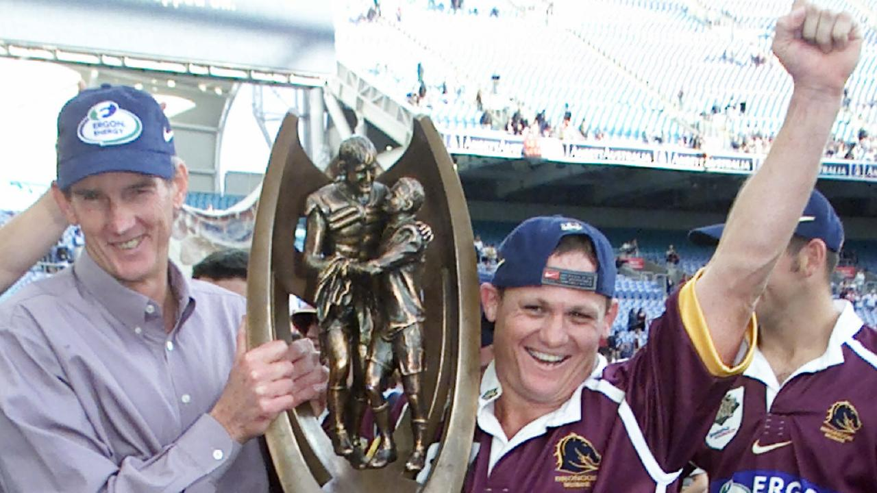 Wayne Bennett says Brisbane wouldn't have won the 2000 premiership without Walters.