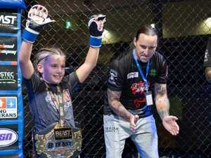 WATCH: How Coast nine-year-old became state's MMA champ