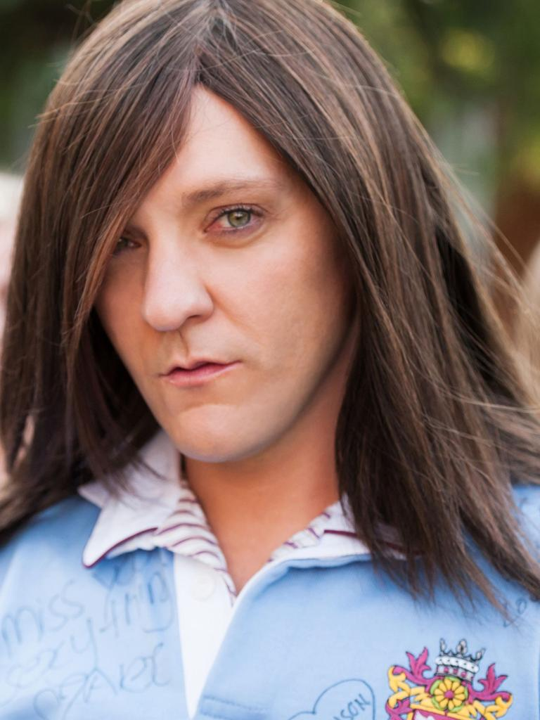 Ja'mie, the high school years. Picture: Supplied