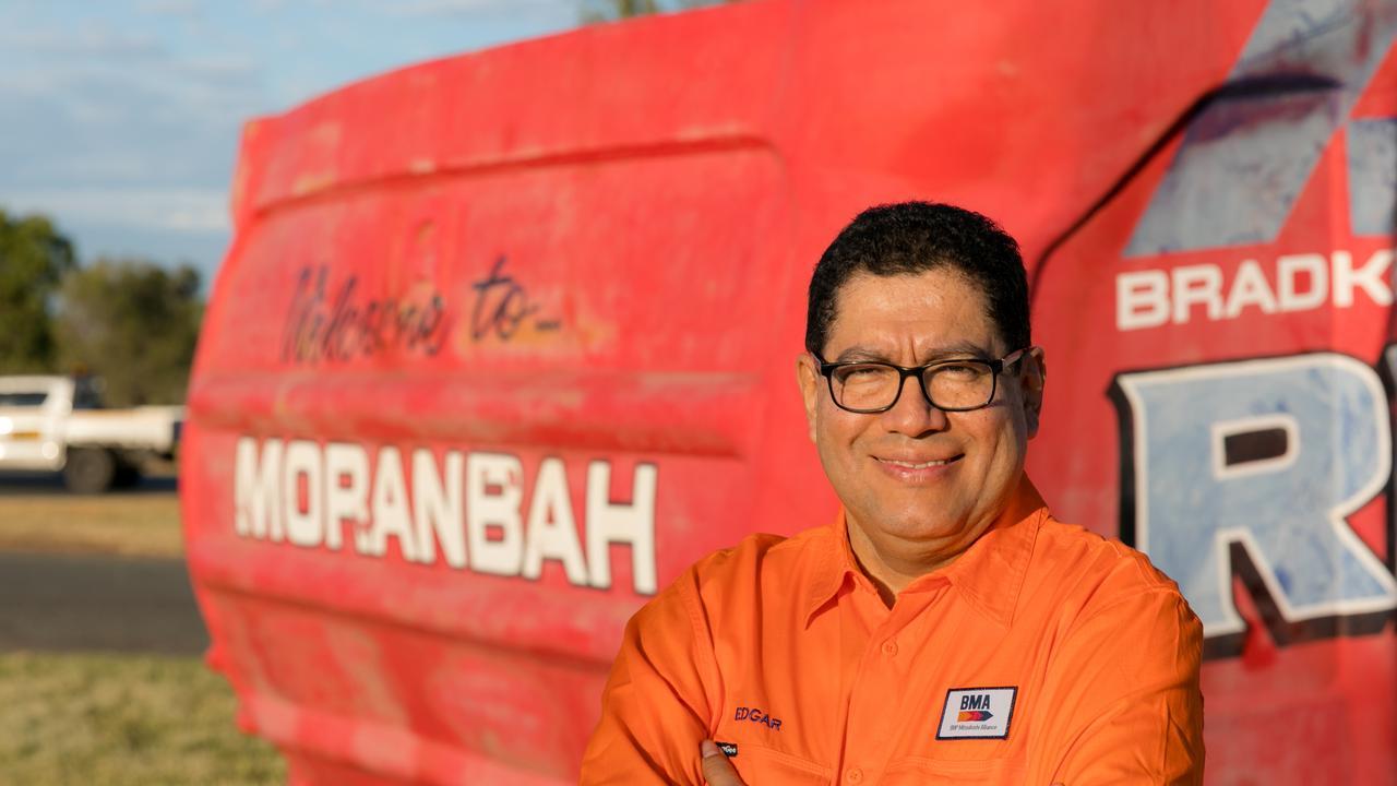 BHP president minerals Australia Edgar Basto, pictured in Moranbah, Central Queensland.