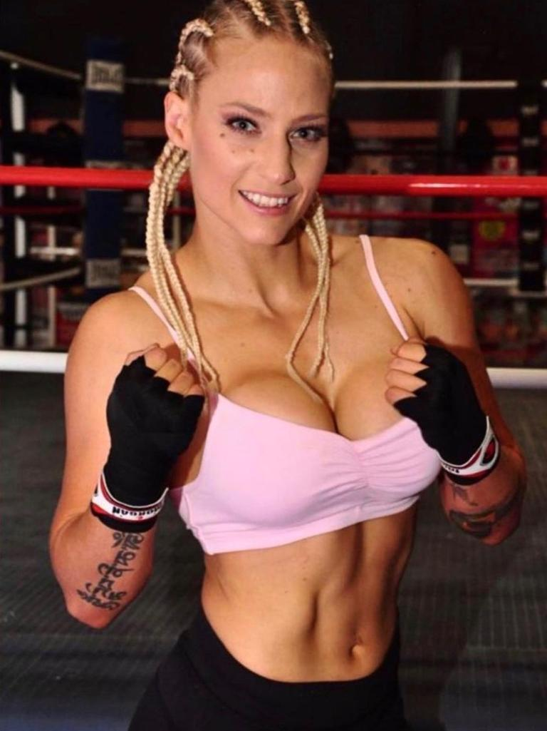 Ebanie Bridges used to be a ring girl but is now 5-0 as a pro boxer.