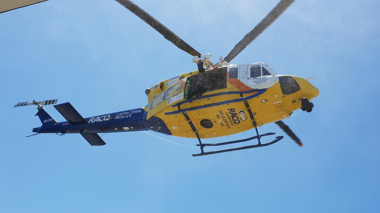 A man was flown to hospital after swerving to avoid a driver travelling on the wrong side of the road, who fled the scene of the crash. File Photo.