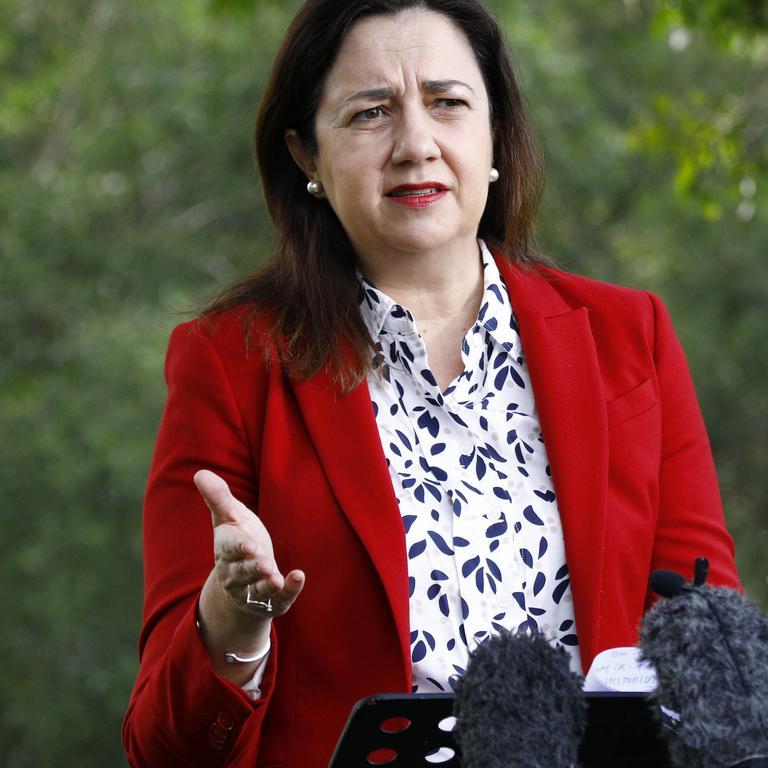 Queensland Premier Annastacia Palaszczuk. Picture: Tertius Pickard