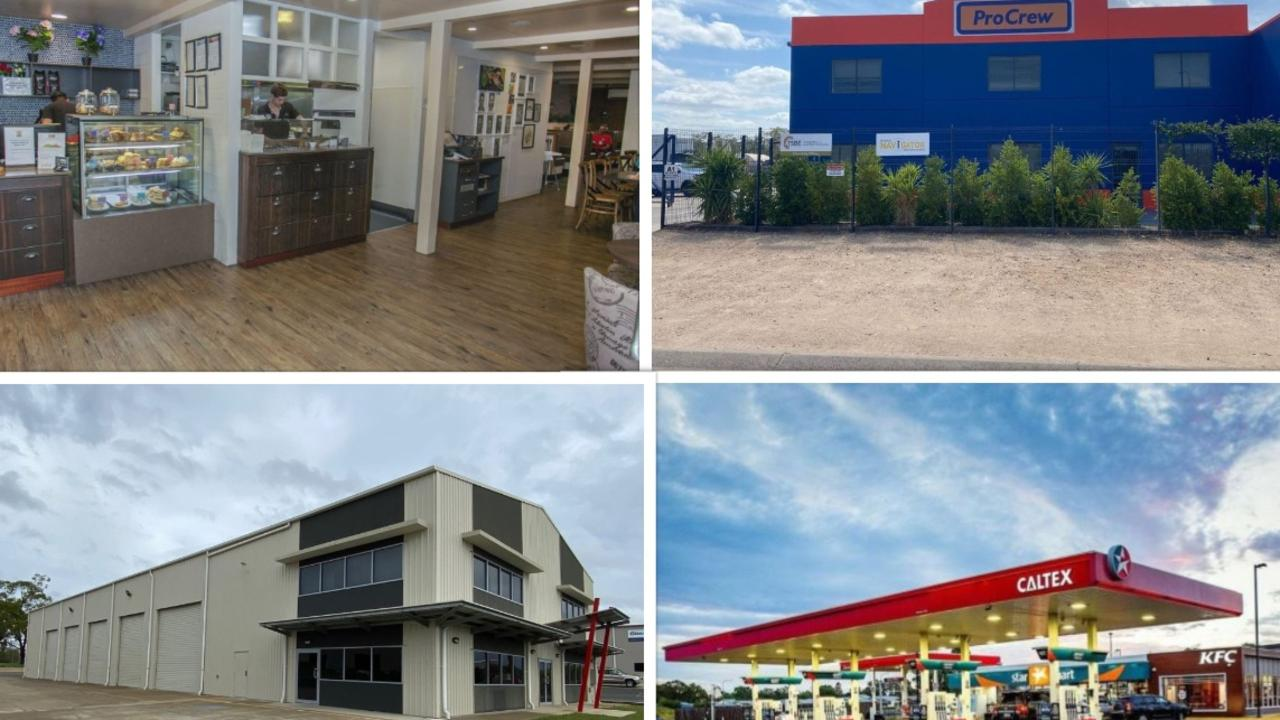 MAJOR OPPORTUNITIES: Million dollar investment properties for sale in Chinchilla. Pic: Supplied