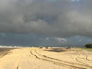 Chopper rescues holiday-maker after beach disaster