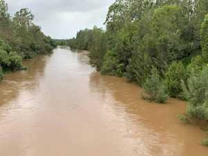 Where the Mary River is expected to peak