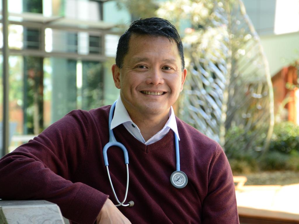 Australian Medical Association vice-president Dr Chris Moy says there is hope the vaccines can stop the spread of the virus, but it is too early to tell. Picture: Supplied