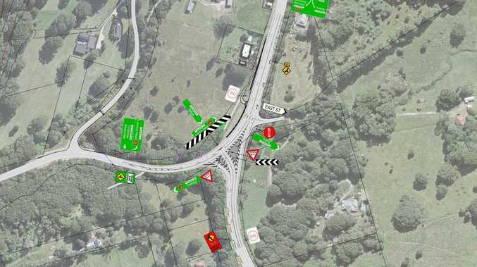 Upgrade to intersection with 'significant' crash history