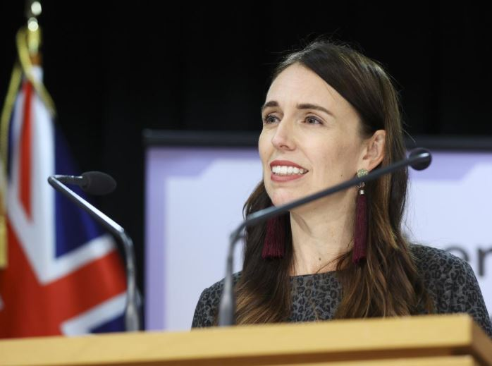 NZ Prime Minister Jacinda Ardern confirmed the bubble would be operational on April 19. Picture: Hagen Hopkins / Getty Images