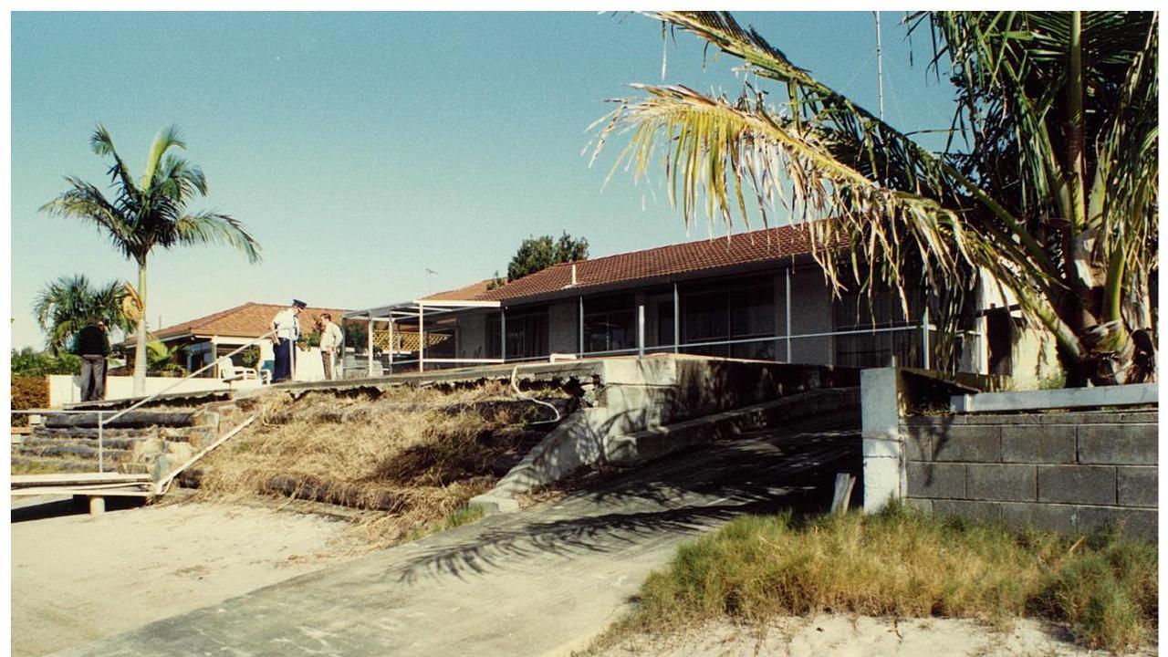 The Gold Coast canal home of Hugo Benscher.