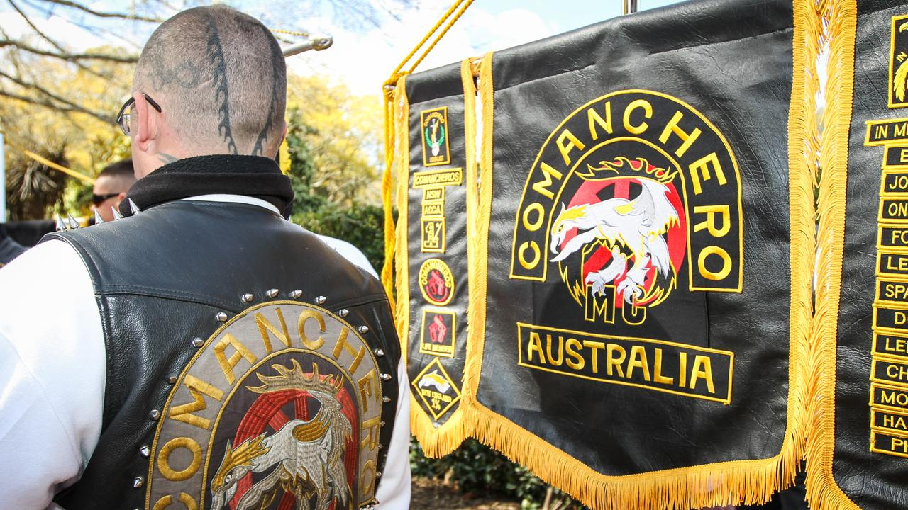 The Comancheros have long been one of the most prominent and influential bikie gangs in Australia. Picture: Supplied