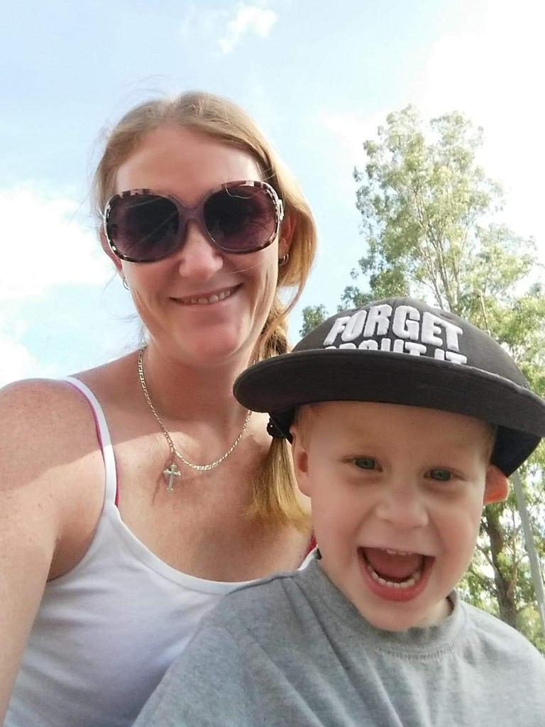 Taylen Swanson was four-years-old when he died from head injuries sustained in a car crash caused by Michelle Newton's inattention which resulted her vehicle veering onto the incorrect side of the road and crashing head-on into Taylen's mother's car on September 18, 2016, on the Burnett Highway at Bouldercombe. Taylen's mother Kel Williams supplied photos of her beloved son after Newton was sente
