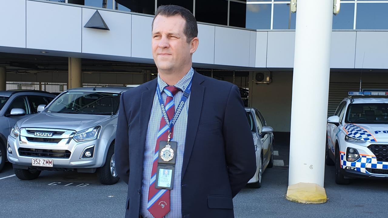 Detective Inspector Luke Peachey. Picture: Aden Stokes